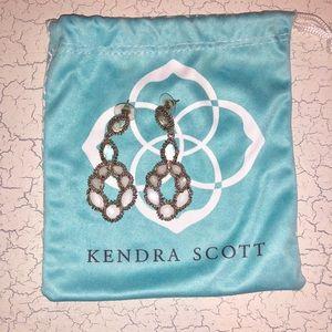 Kendra Scott Neutral Stone Earrings